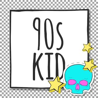 Dziecko z lat 90