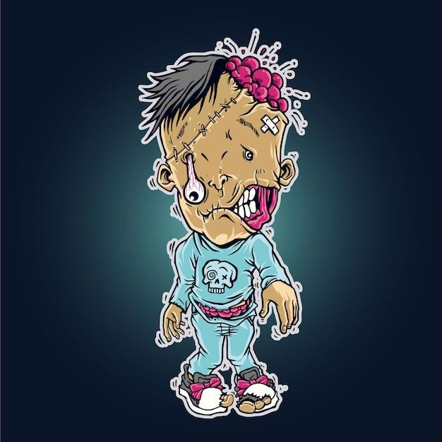 Dziecko zombie