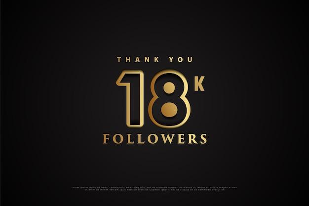 Dziękuję 18 tys. obserwujących z dziurami w liczbach