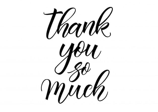 Dziękuję bardzo dużo napisów