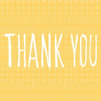 Dziękuję ci. odręczny napis i ręcznie robione doodle okrągłe i liniowe okładki na projekt karty, zaproszenia, koszulki, książki, banera, plakatu, albumu, albumu itp.