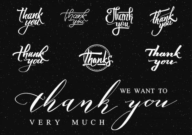 Dziękuję - insygnia