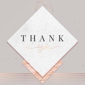 Dziękuję Karty Darmowych Wektorów