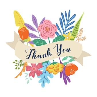 Dziękuję kwiatowy bukiet