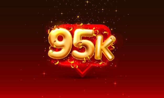 Dziękuję ludziom obserwującym, 95 tys. internetowej grupie społecznej