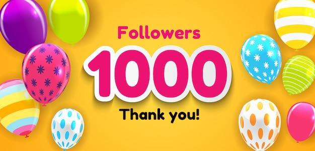 Dziękuję tło dla znajomych z sieci społecznościowych.