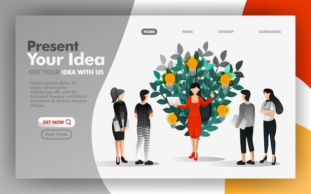 Dziel się, prezentuj i prezentuj swoje pomysły wszystkim