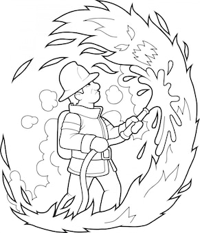 Dzielny strażak