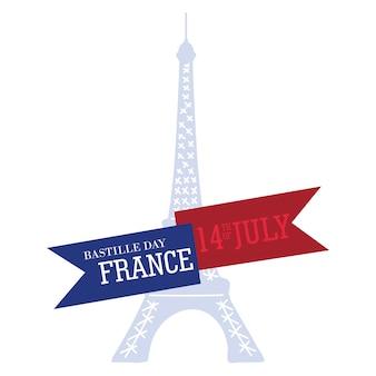 Dzień bastylii we francji