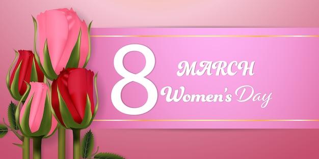 Dzień kobiet 8 marca tło.