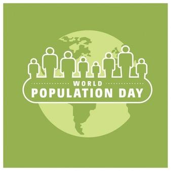 Dzień liczba ludności na świecie