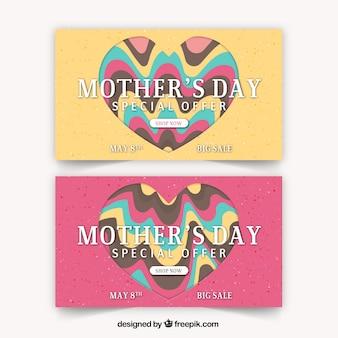 Dzień matki transparenty z ofertami specjalnymi