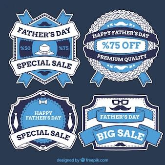 Dzień naklejki kolekcji zabytkowych sprzedaż ojca