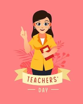 Dzień nauczyciela kobieta