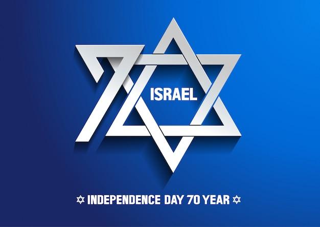 Dzień niepodległości izraela 70-ty