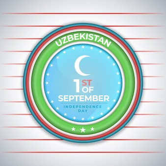 Dzień niepodległości uzbekistanu w kole