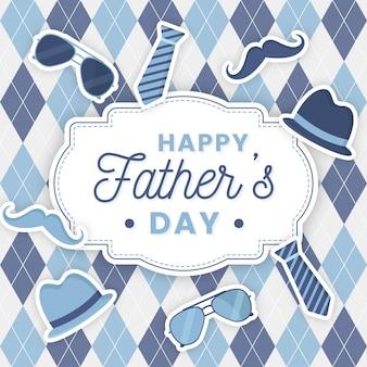 Dzień ojca celebracja urządzony