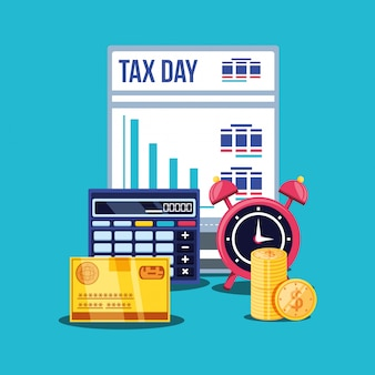 Dzień podatkowy z kalkulatorem