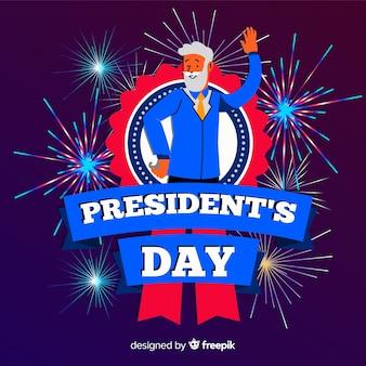 Dzień Prezydentów Darmowych Wektorów