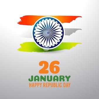 Dzień republiki indii 26 stycznia tło