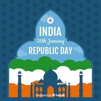 Dzień republiki indii tło