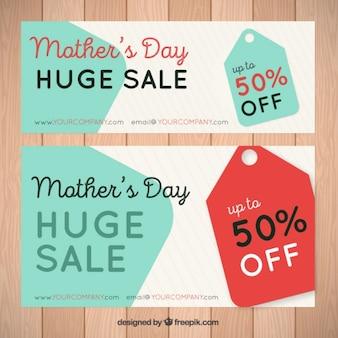 Dzień sprzedaży transparenty śliczne matki