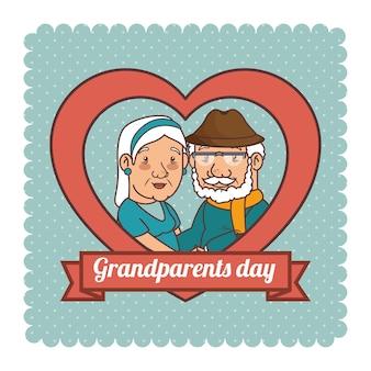 Dzień szczęśliwy dziadków