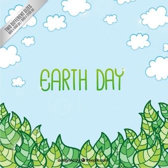 Dzień ziemi w tle