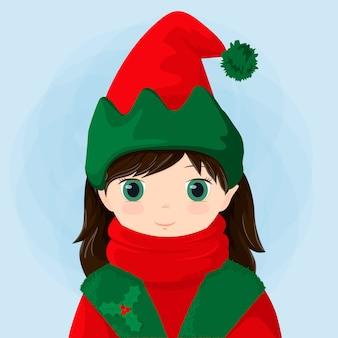 Dziewczyna elfo