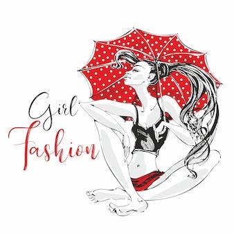 Dziewczyna mody