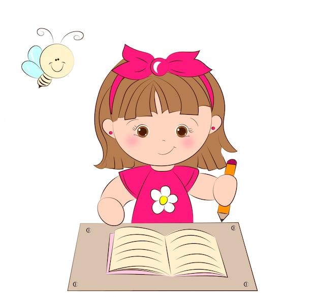 Dziewczyna w szkole