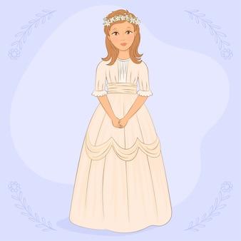 Dziewczyna z sukienki komunijnej