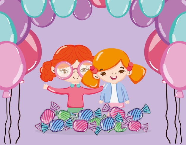 Dziewczyny i słodycze