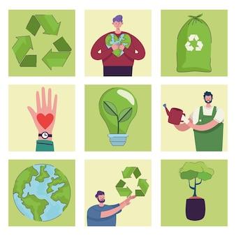 Dziewięć ikon ekologii