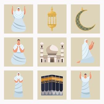 Dziewięć ikon hadżdż mabrur