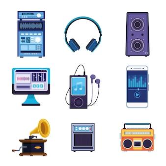 Dziewięć ikon muzyki