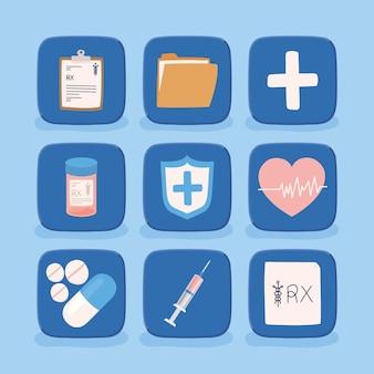 Dziewięć wirtualnych przedmiotów zdrowotnych
