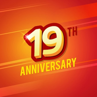Dziewiętnasta rocznica