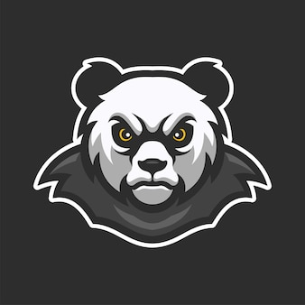 Dziki orzeł ptak maskotka zwierząt e-sportowych logo znaków