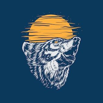 Dziki wilk