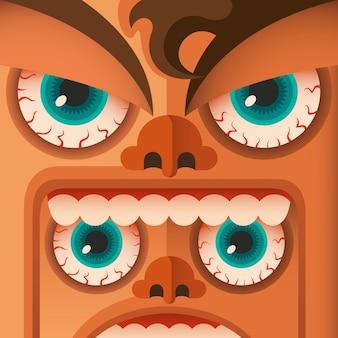 Dziwaczne twarze