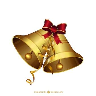 Dzwonki świąteczne ilustracje