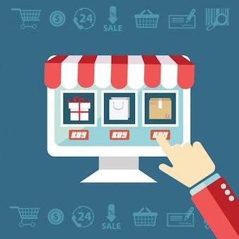 E-commerce zakupy