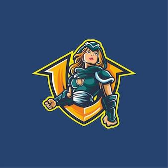 E-sportowe logo zwycięstwa w grach