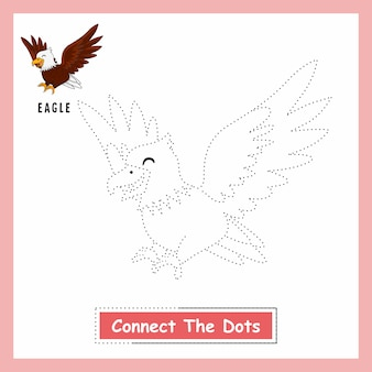 Eagle connect the dots arkusz