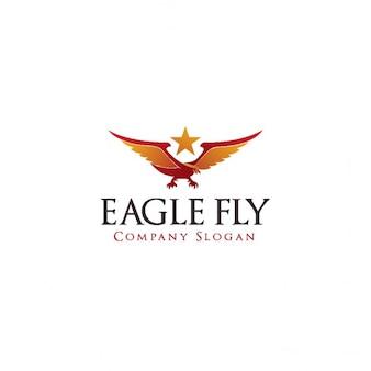 Eagle królewski logo