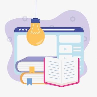 Ebook internetowy pomysł edukacji szkolnej online