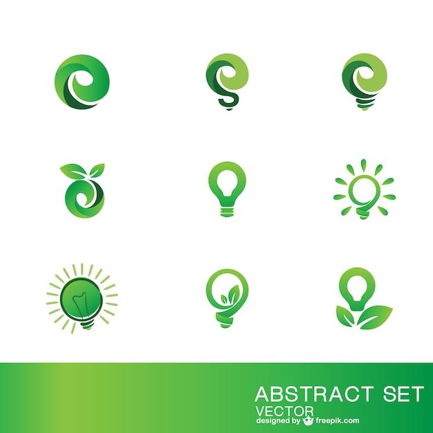 Eco logo szablony