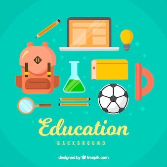 Edukacja elementy tła