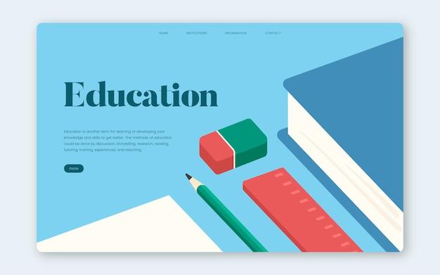 Edukacja i uczenie się graficznej strony informacyjnej